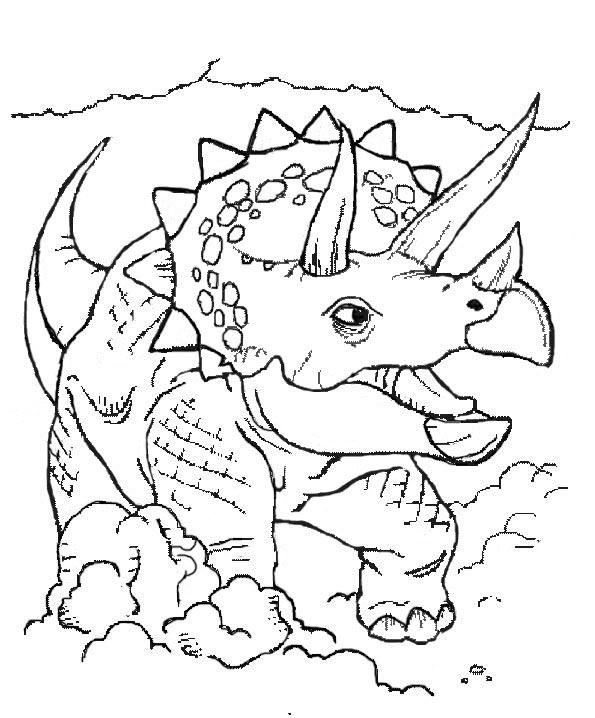 dinosaurier 6 zum malen