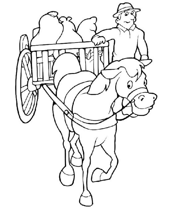 pferde mit schlitten