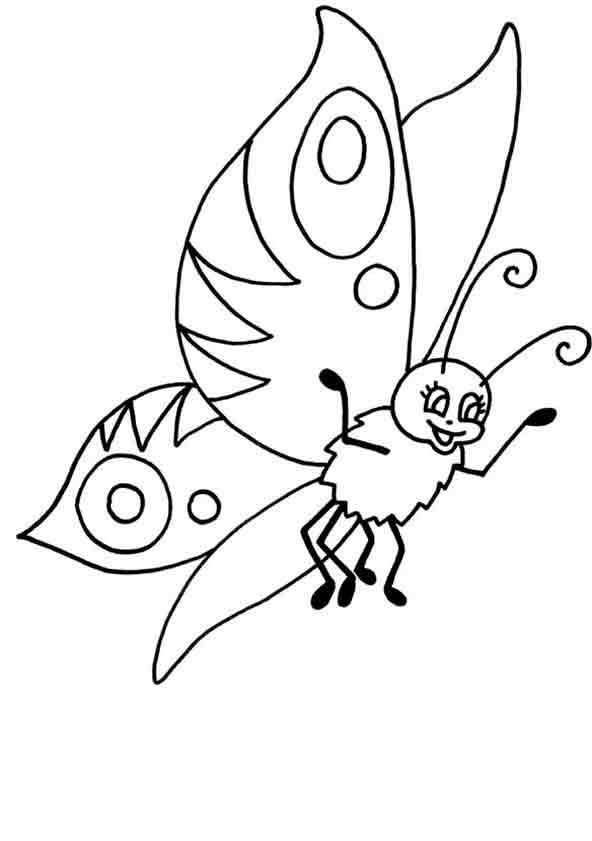 Schmetterling 8 ausmalen